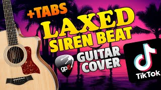 Laxed (Siren Beat). Fingerstyle Guitar Cover. FREE TABS