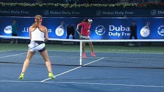 Highlights: WTA R2 - Svitolina d. Zheng