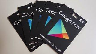 بطاقات غوغل بلاي مجانا بضغطة واحدة وقيف اوي على حسابات وقنوات ...