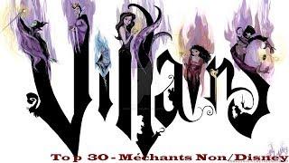 Top 30 - Méchants Non/Disney