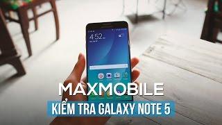Hướng dẫn kiểm tra Samsung Galaxy Note 5 cũ trước khi mua