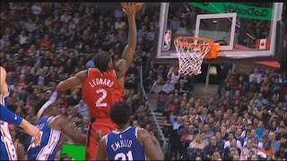 Kawhi Leonard Turns Into MVP Mode & Destroys Sixers! Raptors vs Sixers