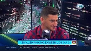 Fox radio 21 mayo 2019 Lucas Alario Ricardo Lavolpe