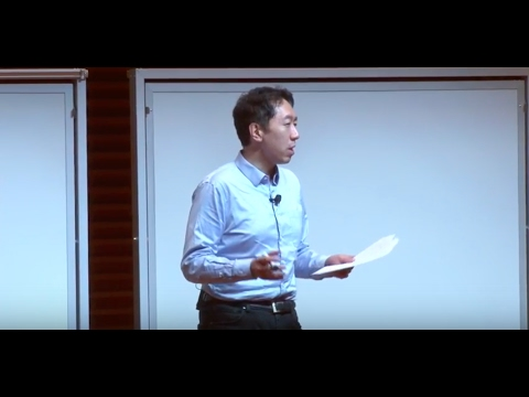 Artificial Intelligence is the New Electricity - Andrew Ng