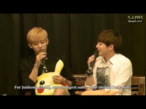 Jung Daehyun imitating B.A.P members