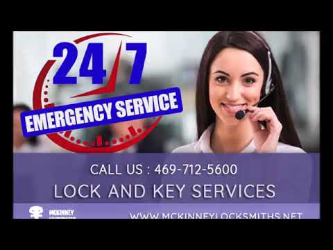 Locksmith Mckinney TX  |  Call Now: 469-712-5600