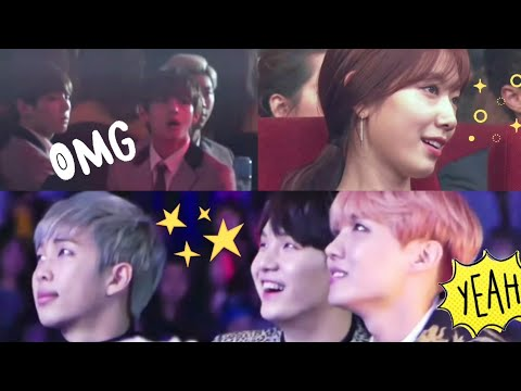 Idols / Artists react to MAMAMOO (마마무)'s stages at year end awards part 1