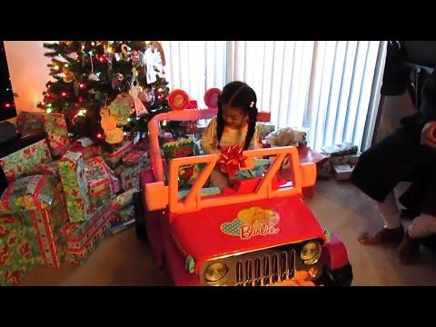 Christmas Morning Opening Presents 2015 Vlog #99