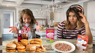 SWiTCHING DiETS with a 6 YEAR OLD for 24 HOURS!