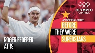Roger Federer at age 19 | Before They Were Superstars