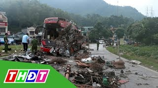 Tai nạn thảm khốc tại Hòa Bình: Xe tải chở nặng chạy tốc độ cao, lấn làn | THDT