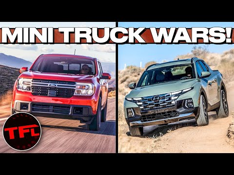 The Fight Is ON: Here's How The Ford Maverick Compares To The Hyundai Santa Cruz!