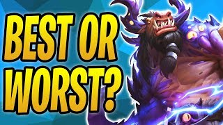 The WORST Evolution or the BEST Evolution? | Midrange Shaman | The Boomsday Project | Hearthstone
