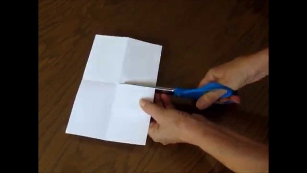How To Make A Quick And Easy 8 Page Mini-Book From One