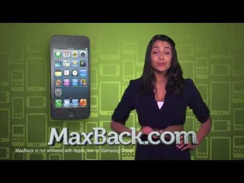 Sell used electronics for FAST cash! - MaxBack.com commercial
