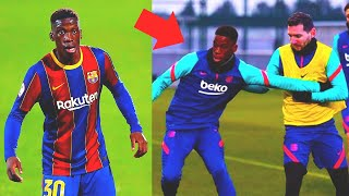 THE 17 YEAR OLD LAD SHOCKED MESSI at BARCELONA TRAINING SESSION! Who is Ilaix Moriba?