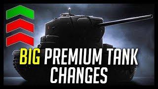 ► BIG Preferential Premium Tank Changes + More Object 268 V4 Nerfs! - World of Tanks NEWS