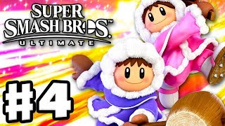 Ice Climbers Are Back! - Super Smash Bros Ultimate - Gameplay Walkthrough Part 4 (Nintendo Switch)