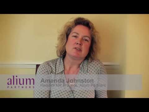 The Changing Role of HR - Amanda Johnston at Alium Partners HR Leadership Event