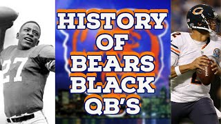 Chicago Bears History Of The Black Quarterback || Black History Month