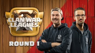 Clash of Clans UPDATE - Clan War Leagues - TH12 War Attacks - Round 1