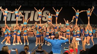 Cheer Athletics Panthers Worlds Showoff 2018