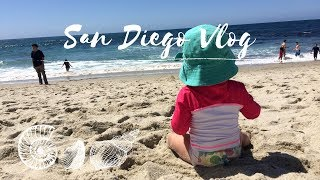 ONE WEEK in San Diego With a ONE YEAR OLD || Young Family Vlog