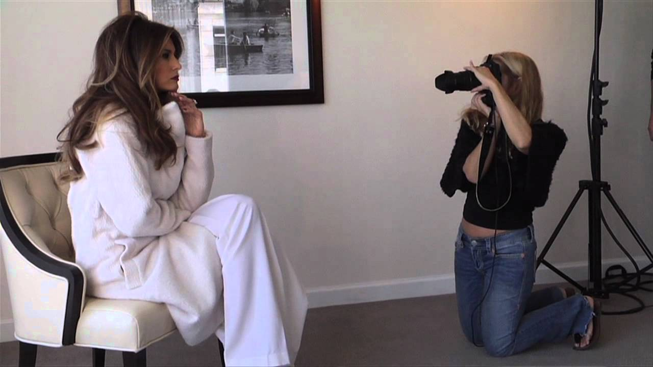 Melania Trump Photo Shoot Jetset Magazine Youtube