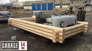 Building a mobile home on an UAZ platform – will it drive?