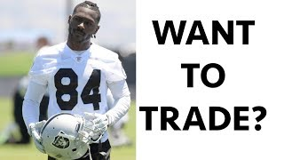 Antonio Brown Wants A Trade 😳
