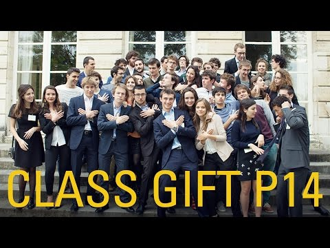 Remise du Class Gift 2016 !
