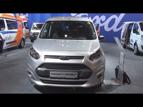 Ford Transit Connect Combi Trend L2 1.5 TDCi 120 hp (2017) Exterior and Interior in 3D