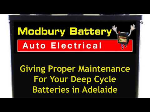 Giving Proper Maintenance For Your Deep Cycle Batteries in Adelaide
