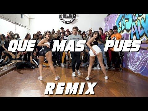 QUE MAS PUES REMIX - Sech   Choreography by Emir Abdul Gani