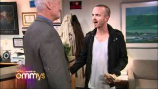Pinkman Selling Meth to Creed on the Emmys