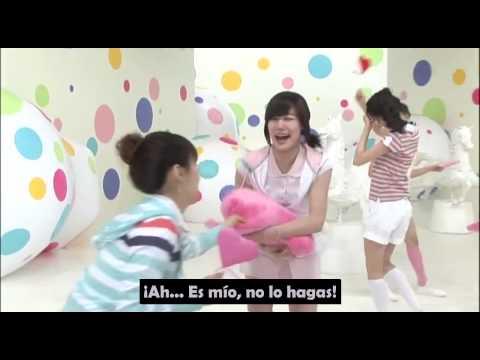 MAKING FILM SNSD - Kissing You (sub español)