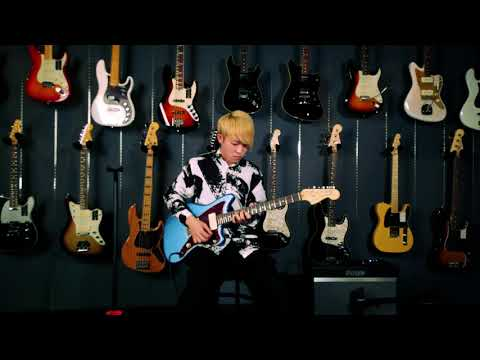 Inst guitar at Fender show room Ryunosuke Yamagishi