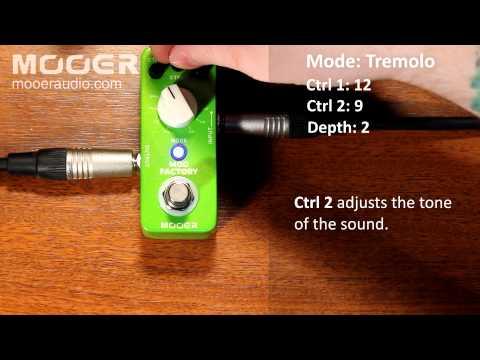 Mooer Audio Mod Factory Multi Modulation Pedal