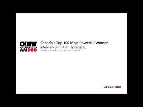CKNW: Kim Thompson - Top 100 Most Powerful Women