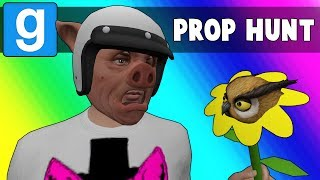 Gmod Prop Hunt Funny Moments - Hubbadah!! (Garry's Mod)
