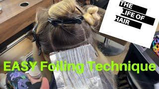 How To Easily Full Head Highlights (Converting Full Head Scalp Bleach)