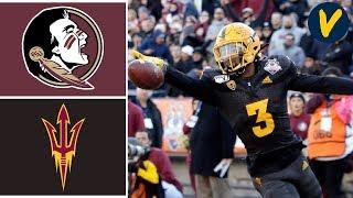 Florida State vs Arizona State Highlights   2019 Sun Bowl Highlights   College Football