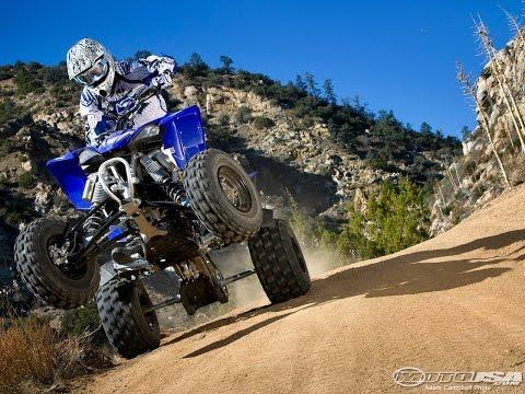 2009 Yamaha YFZ450R ATV Video Review