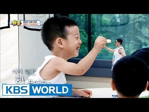 Twins & 5 siblings' house - Daddy has gotten smaller [The Return of Superman / 2016.08.07]