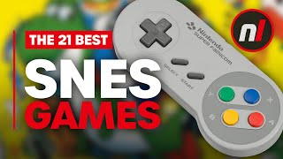 21 Best Super Nintendo Games (SNES)