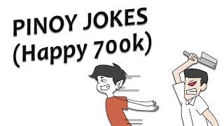PINOY JOKES ( HAPPY 700K ) || PINOY ANIMATION
