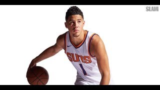 Devin Booker Is a 21-Year-Old Savage | SLAM Cover Shoots
