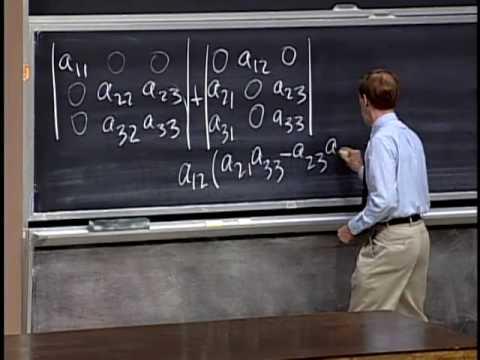 Baixar Lec 19 | MIT 18.06 Linear Algebra, Spring 2005