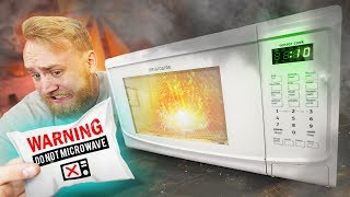 DO NOT Microwave These Things!