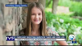 Parkland survivor dies by suicide; her mother hopes her daughter's story can help save others